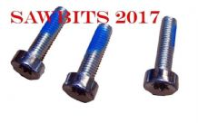SET OF 3 SCREWS  FITS STIHL 034 036 044 046 MS360 MS440 MS460 STARTER COVER